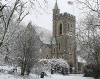 st augustines in January snow 2010
