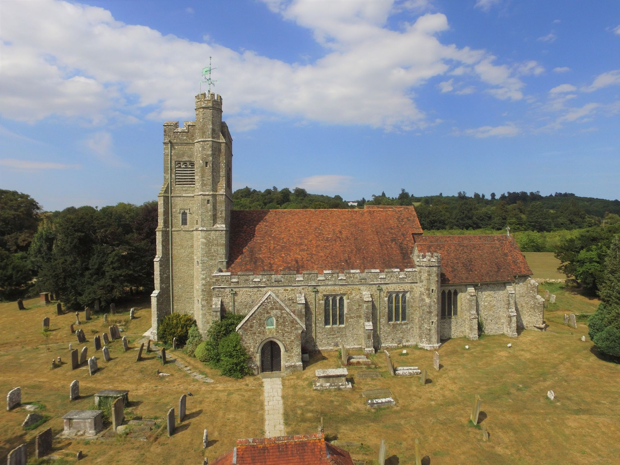 Harrietsham church