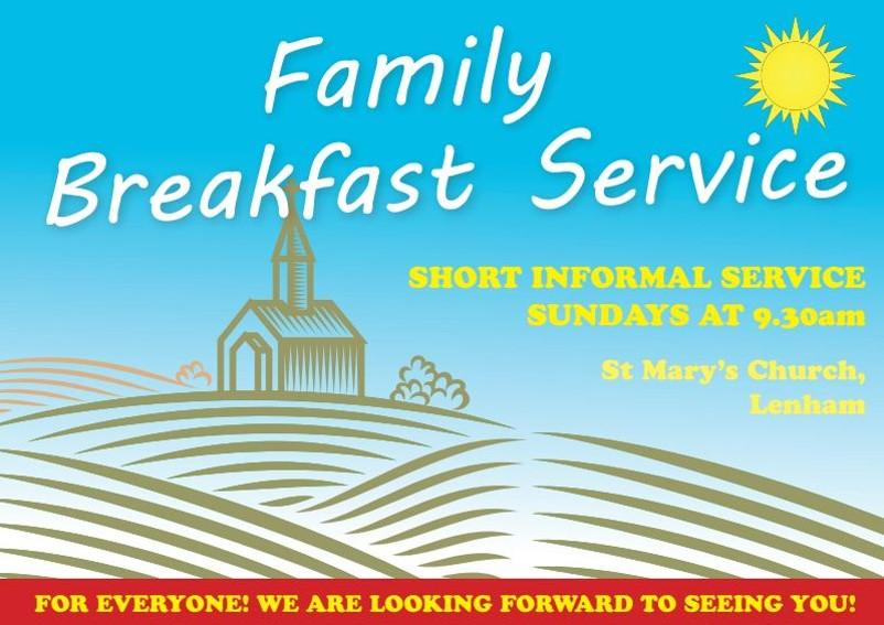 Breakfast Service Flyer