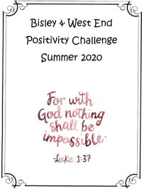 Positivity Challenge Cover PAge