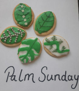 Messy Palm Sunday Biscuits
