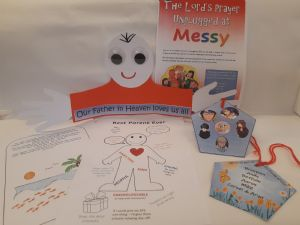Our Father Messy Crafts