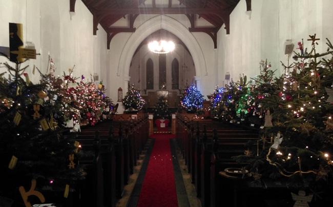 WestEnd Christmas Tree festival 2016