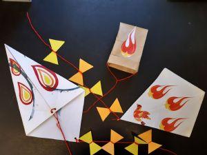 3 Kites for Pentecost