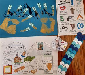 Craft ideas 10 commandments