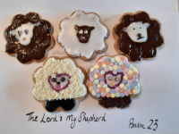 Messy Sheep Biscuits