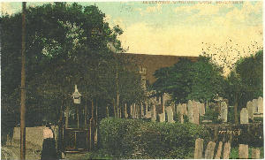 A picture of old St Michaels c1910.