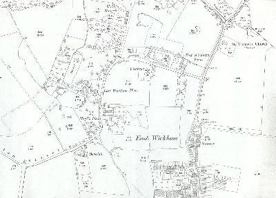 East Wickham in 1909