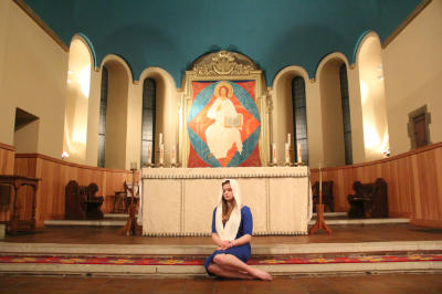 Sanctuary with 'Mary'