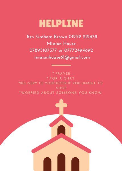 Helpline Poster