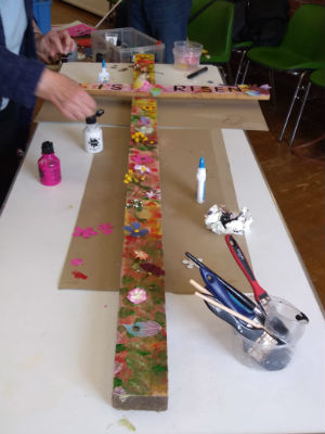 Messy Church Easter Cross