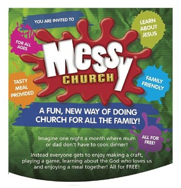 Messy Church full logo