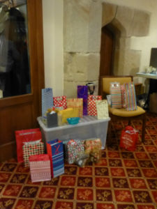 Stall at our Advent Coffee morning Dec 15