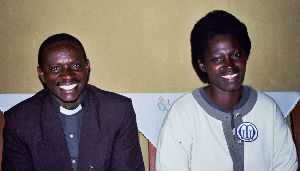 Rev Augustin and Violette