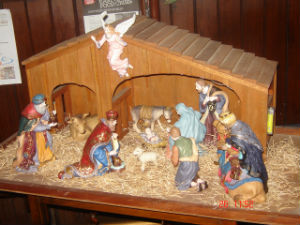 Church Christmas Crib