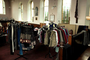 Church into Charity Shop