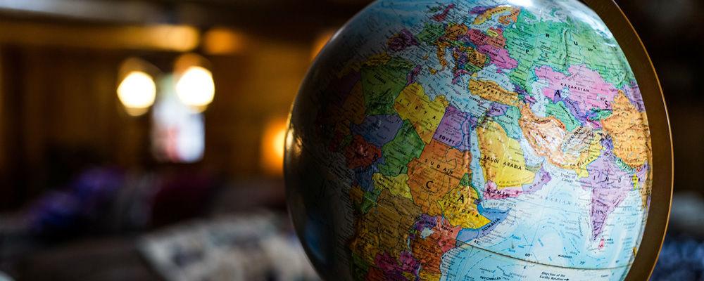 Globe by Kyle Glenn on Unsplash.com