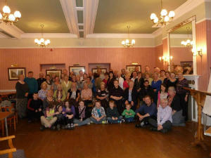 The church family at Willersley