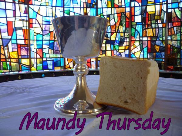 Maundy Thursday heading