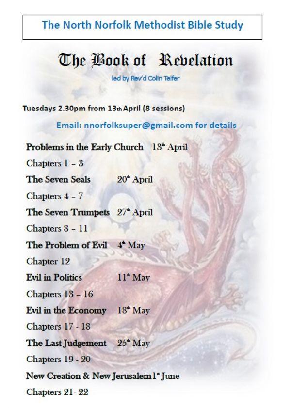 Bible Study Poster 3