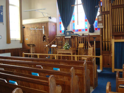 Hickling Methodist Church Interior