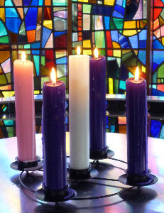 Advent Candles 5
