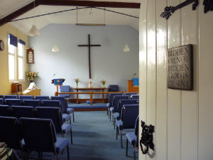 Church - Weybourne Chapel inside