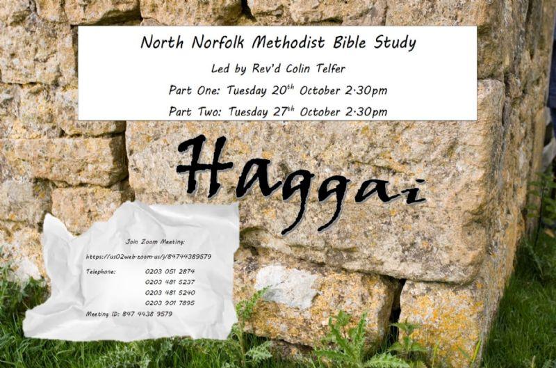 Image of Bible Study Haggai