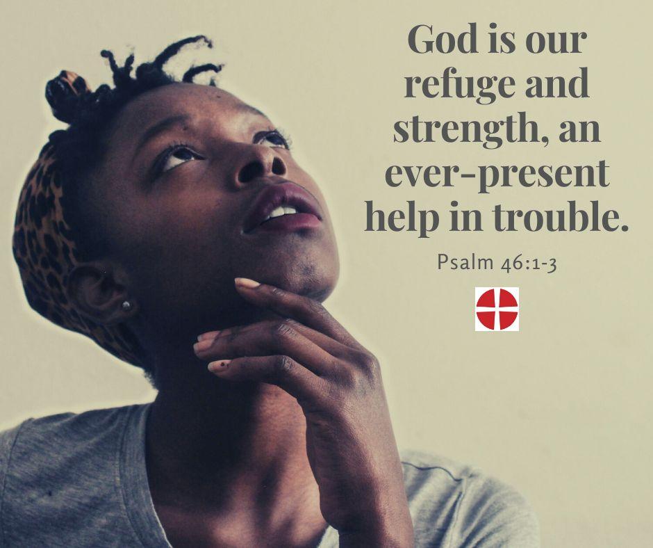Image - God is our refuge....