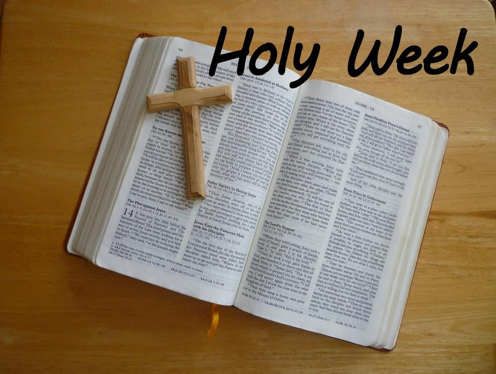 Holy Week Heading