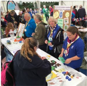 Sales at Gilwell