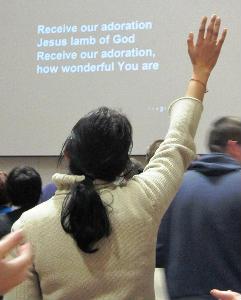 Praise at Worship Together