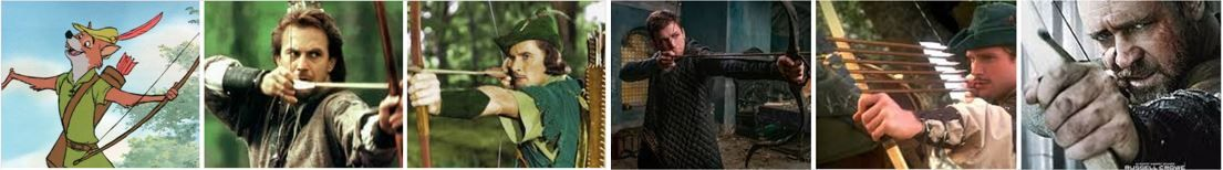 Robin Hoods across the years
