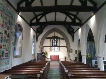 Modern interior St Margaret's