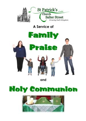 Cover page of new Family Service book