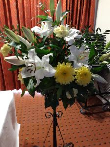 Flowers at the Altar of Repose