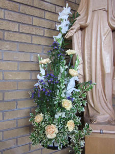 Flowers for Our Lady