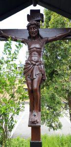 The restored Calvary Cross