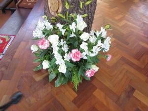 Lectern flowers