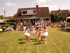 Dance School at a garden fete