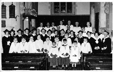 St Clements Choir 1964