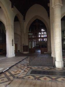 Empty Church 17 May 2018