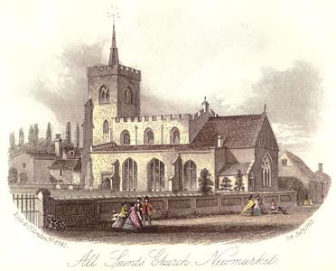 All Saints Church - 23rd July 1863
