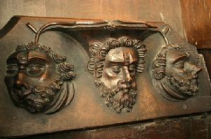 Minster misericord